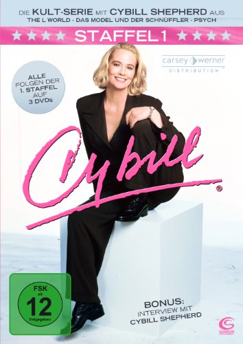 Cybill - Staffel 1 (3 DVDs in Amaray-Box mit Schuber)