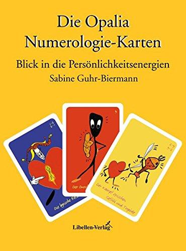 Set Opalia Numerologie-Karten (Deutungsbuch & Karten): Blick in die Persönlichkeitsenergien