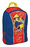 Kinder Rucksack - Fireman Sam - Feuerwehrmann Sam - Kinderrucksack - mit 1 Hauptfach