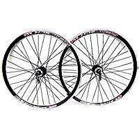 TKM / QUANDO / REDNECK - Ruote da Mountain Bike con freni a disco e a V, 26