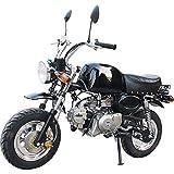 90GJ Mini Motocicleta de montaña de travesía pequeña Motocicleta para niños pequeños y medianos Gasolina para Adultos 125CC Playa Negro Ocio y Entretenimiento automóvil de Autos