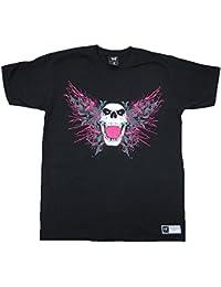 WWE WORLD WRESTLING ENTERTAINMENT Herren T-Shirt Schwarz BRET HART Official Merchandise THE BEST THERE WAS SINCE 1984 Superstar Rock Star ViP Club Design