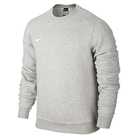 Nike Men Team Club Sweatshirt - Grey/White, Medium