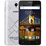 Cubot Max 4G Smartphone 6 Zoll HD Touch-Display, 4100 mAh Akku, 3GB Ram+32GB Octa-Core Prozessor, Android 6.0 OS,Dual-SIM, 5MP Frontkamera / 13MP Hauptkamera (Silber)