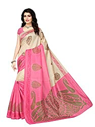 Explore the collection of beautifully designed sarees from Mrinalika Fashion on Amazon. Each piece is elegantly crafted and will surely add to your wardrobe. Pair this piece with heels or flats for a graceful look.