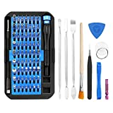 Feinmechaniker Schraubendreher Set 76 Teilig Reparatur Set, Security Torx Set Pentalobe Kreuzschlitz JIS tri-point für Smartphone, Nintendo Switch, Tablet, PC, Konsolen, Kamera, Uhren