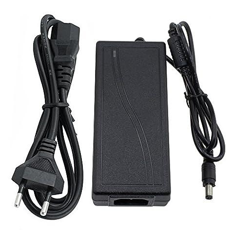 Skitic LED Streifen Netzteil 12V 5A 60W Trafo Netzadapter für 3528 5050 2835 5630 LED Strip Band Leiste Lichterkette Europäischer Stecker