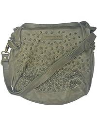 Taschendieb - Bolso al hombro de Piel Lisa para mujer verde verde