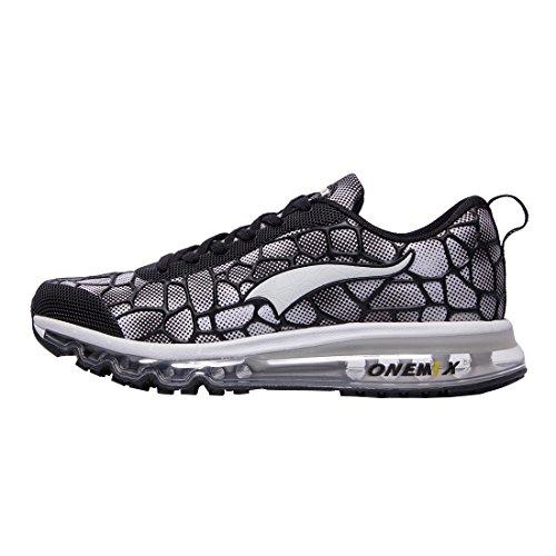 Sneakers Onemix Running Sneakers Fitness Intérieur Homme Noir / Blanc