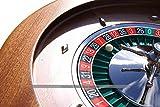 Dal Negro Montecarlo 50cm Mahogany Roulette Wheel