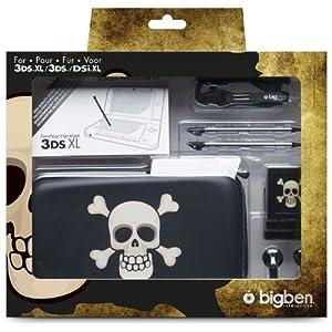 """Nintendo 3DS XL / new 3DS XL / 3DS / DSi XL – Zubehör-Set """"Pirates XL"""" (farbig sortiert)"""
