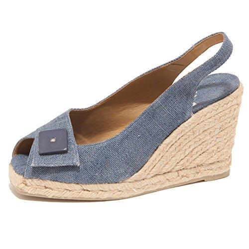3436P sandalo donna CASTANER blu shoe sandal woman [39]