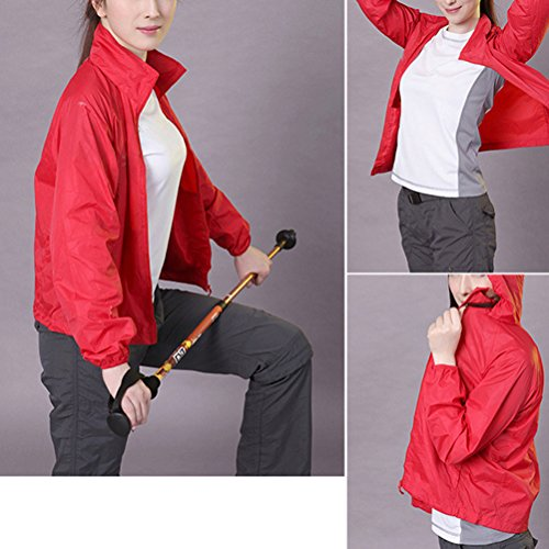 Zhhlaixing Outdoor Skin Windbreaker Men Women Waterproof Quick Dry Protezione solare Group Clothes Skin Clothing Pink