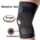ELOVE Hinges Knee Brace Non-slip Neoprene Knee Support & Compression for Knee Stability