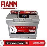 Fiamm Auto-Batterie 64Ah 610A, Plus-Pol rechts (+ RE) Code L2 64P - 7905150
