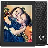 NIXPLAY Seed Marco Digital Wi-Fi de 8 Pulgadas Negro. Envios instantaneos de Fotos y Videos. Integración a Redes Sociales. Auto on/Off. Rotación automática