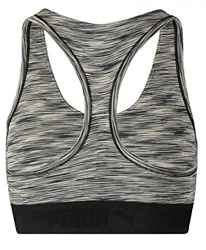 Puma Space Dye dos nageur Basic Sport Soutien-gorge Racer Débardeur pour femme de choix de couleur noir