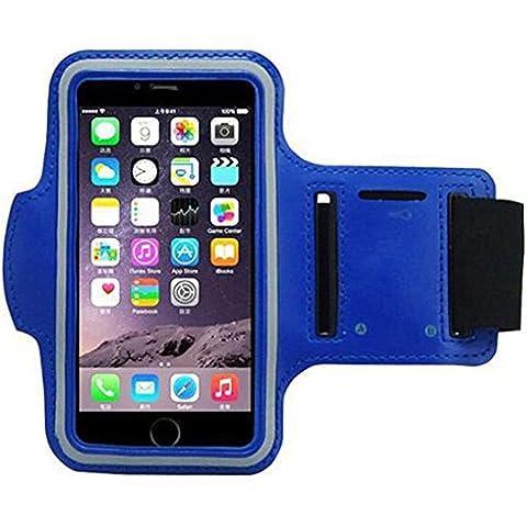 West Biking iPhone 6/6S/6plus Braccio Bicicletta Borsa Braccio Palestra fascia da braccio portachiavi riflettente per la sicurezza a prova di sudore cintura regolabile polso borsa