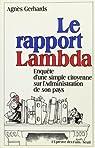 Le rapport Lambda par Gerhards
