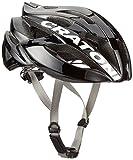 Cratoni C-Bolt Fahrradhelm, Black-White Glossy, L-XL