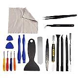 JVMAC 20 in 1 Schraubendreher Set, Reparatur Werkzeug set für Handy Smartphone iPhone Samsung Tablet PC Laptop Uhr Kamera Brille