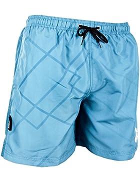Guggen Mountain GUGGEN Banador de natacion para hombre Traje de Bano Azul