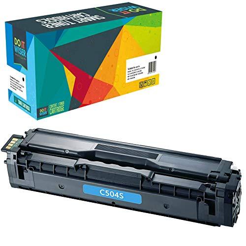 Do it Wiser Toner Compatibile CLT-K504S per Samsung CLT-C504S c504s C1810W CLX-4195FN CLP-415 CLP-415N CLP-415NW CLP-470 CLP-475 CLX-4195N CLX-4195FW SL-C1860FW CLX-4170 (Ciano)