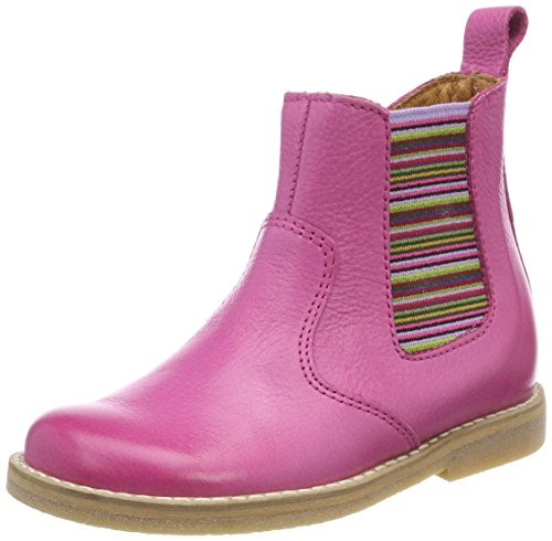 Froddo Mädchen Children Ankle Boot G3160079 Chelsea, Rot (Fuchsia), 28 EU