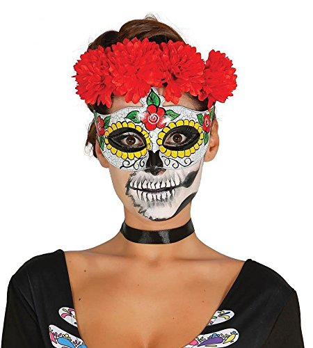 Antifaz de Catrina mexicana