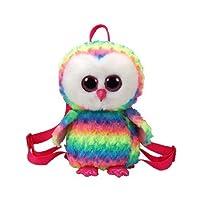 Ty 95003 Gear Owen OWL Back Pack, Multicolored
