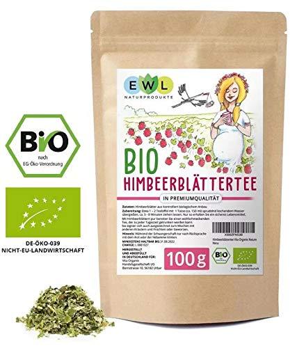 Himbeerblättertee Schwangerschaft Schwangerschaftstee100g Himbeerblätter Tee in Premium Bio Qualität aus kontrolliertem Anbau