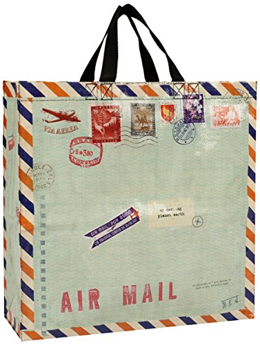 Blue Q Airmail Shopper by Blue Q