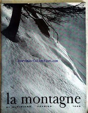 MONTAGNE ET ALPINISME (LA) [No 66] du 01/02/1968