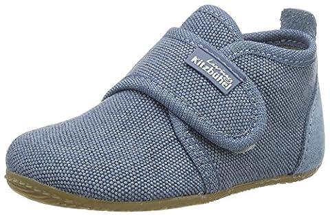 Living Kitzbühel Baby Jungen Klett Lauflernschuhe, Blau (Jeans), 28 EU