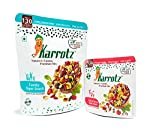 Karrotz - Healthy Mix of Top Quality Berries, Fruits, Nuts, Seeds & Grams for Breakfast, Topping or Snacking   Comes in a trendy size pack to carry in your bag with zip-lock seal for freshness on the go or storage at home.   Zero Cholesterol,  Ze...