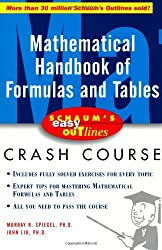 Schaum's Easy Outline of Mathematical Handbook of Formulas and Tables by Murray Spiegel (2001-02-08)