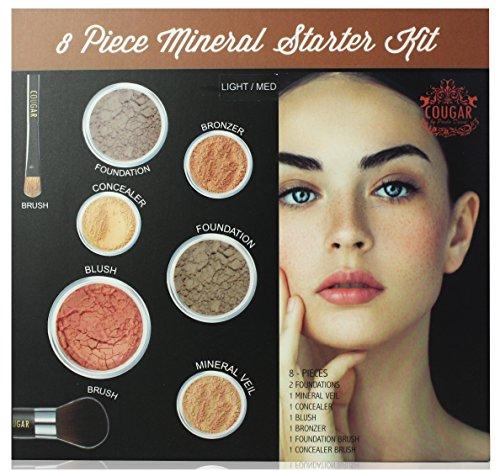 Kit de iniciación de 8 piezas para maquillaje