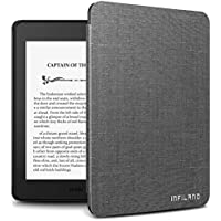 Infiland Case for Kindle Paperwhite (10th Generation-2018 Release), Thinnest and Lightest Cover Compatible with Amazon Kindle Paperwhite 2018 Release(Auto Sleep/Wake Function),Gray