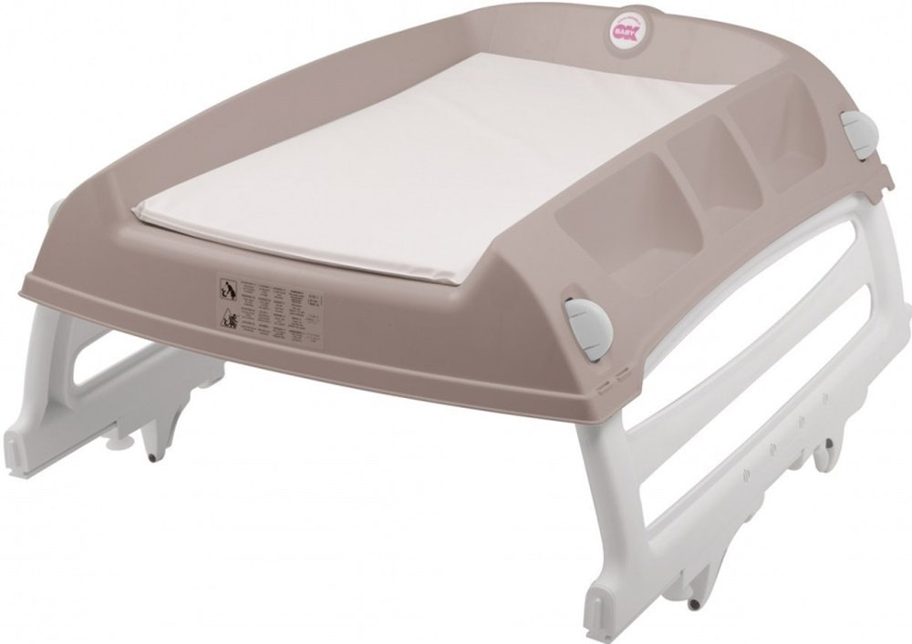 OKBaby Flat Over-bath and Cot-top Changing Unit, Grey 8008577008391 ...