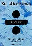 Generic Ed Sheeran Divide ÷ Foto Poster The New Album Tour X + Bluse CD Wembley 6 (A5-A4-A3) - A5