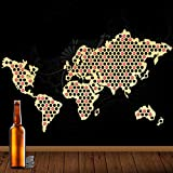 Bier-Cap-Welt-Karte 109 Farben
