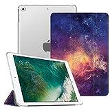 Fintie Hülle für iPad 9.7 Zoll 2018/2017 - Ultradünn Superleicht Schutzhülle mit transparenter Rückseite Abdeckung Cover Case mit Auto Schlaf/Wach Funktion, DieGalaxie