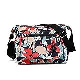 flada multi - tasca nylon messaggero sacchi per le donne casua trasversale borsa borsa a tracolla style3