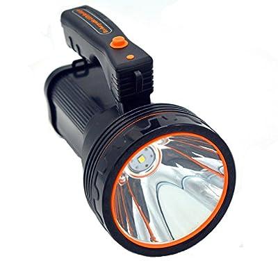 Ambertech Wiederaufladbare 10000 Lumen Super Helle LED Scheinwerfer Taschenlampen Fackel Laterne mit scharfem Licht