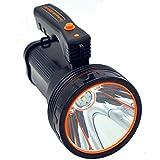 Ambertech Wiederaufladbare 7000 Lumen Super Heller LED Scheinwerfer Taschenlampe Suchscheinwerfer