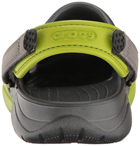 crocs Herren Swiftwater Clog M Grün (Volt Green/Graphite)