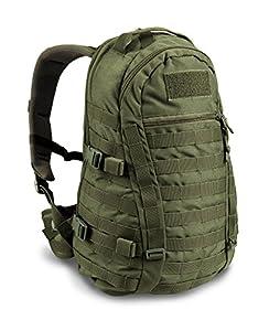 W!SPORT® CARACAL Sac à dos 25 litres (Militaire Cordura MOLLE Pêche Randonnée Camping Outdoor)