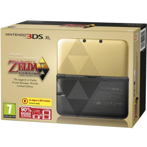 Nintendo The Legend of Zelda: A Link Between Worlds - Limited Edition, Black [PEGI]
