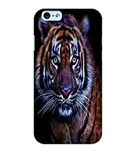 ColourCraft Scary Tiger Look Design Back Case Cover for APPLE IPHONE 6S