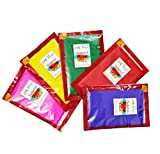 meSleep Decoration Herbal Gulall Holi Colors (8 cm x 13.49 cm x 21 cm)